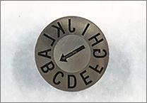 letter mold date insert