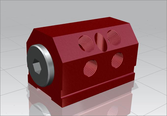 IM3-2-AB-4 water manifold