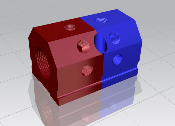 IM3-2-ABCDE-5-5 water manifold