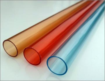 PVC color transparent extrusion tube